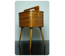 Danish Modern Sewing Box