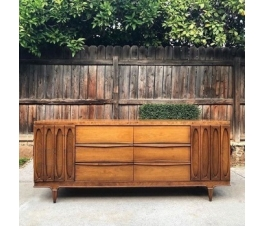 Oval Carving Sideboard