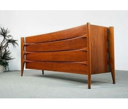 Concave Modern Sideboard